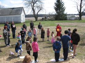 Cake Walk at the Updike Farmstead